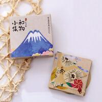 40pcs vintage japanese paper decorative label adhesive scrapbooking sticker N Tw