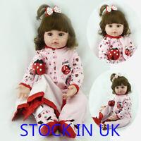 "18"" Reborn Baby Doll Real Looking Newborn Doll Lifelike Reborn Toddler Doll"