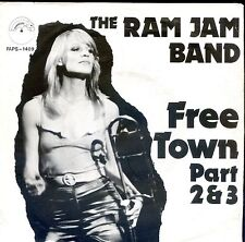 7inch RAM JAM BAND free town Part 2 & 3 HOLLAND 1980 EX/VG+