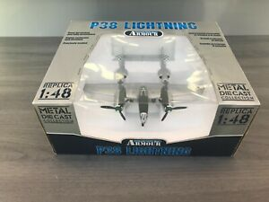 1/48 P-38 FRANKLIN MINT ARMOUR COLLECTION
