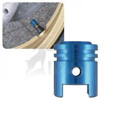 HD Dyna Fat Bob ventilkappenset pistón azul válvula tapas