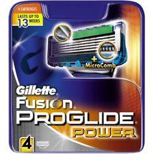 Gillette Fusion ProGlide Power Rasierklingen 4 Stück Original Neu & OVP