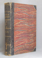 1878 FRANK LESLIE'S POPULAR MONTHLY January-June LEATHER BOUND VOLUME Six Issues