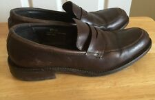 Banana Republic Leather Brown Penny Loafers Size 10.5 D Men's Dress Shoes
