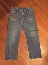 VTG 1960s Lee Riders Denim Jeans Sanforized Double Selvedge TALON zipper