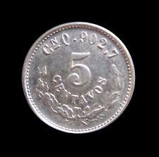 MEXICO 5 CENTAVOS 1903 CNQ REPUBLICA MEXICANA SILVER KM 400 #3308#