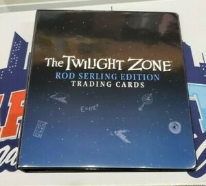 2019 Rittenhouse Twilight Zone Rod Serling Edition Official Binder + Promo Card