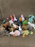 Ty Beanie Babies Lot23 Rare Gigi Tiny Batty Pinky Iggy Stilts Kuku Scoop Smoochy