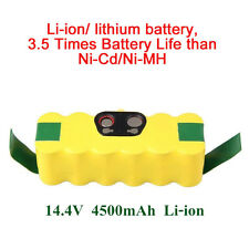 4500mAh Li-ion Battery For iRobot Roomba 500 510 540 550 560 570 580 600 700 780