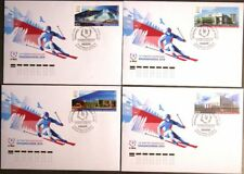 RUSSIA RUSSLAND 2018 2/2018 Winter Universiade 2019 Krasnoyarsk Locations FDC