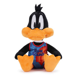 BRAND NEW LOONEY TUNES DAFFY DUCK PLUSH 12INCH SOFT TOY TUNE SQUAD SPACE JAM