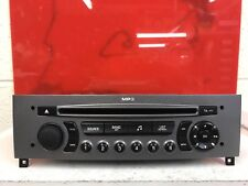 Radio coche plata Peugeot 308 Stereo Cd Mp3 Player Siemens Vdo Rd4 decodificados