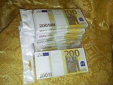 EURO.SOUVENIR BANKNOTE 200euro ,10pcs  (SIZE:155*75mm#95~100pc)NEW.