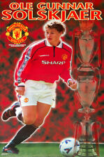 OLE GUNNAR SOLSKJAER Manchester United FC Champion 1999/2000 POSTER