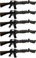 Sack - Ups 42 in Gun Sock Sleeve for Rifle / Shotgun Silicone Treated Six Pack