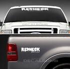 Redneck Edition Decal Set dripping windshield decal / sticker 4x4 diesel truck