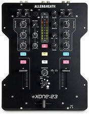 ALLEN & HEATH XONE:23 Two Channel DJ mixer w/ full kill 3 band EQ Xone 23