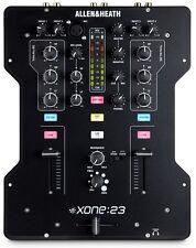 ALLEN & HEATH XONE:23 Two Channel DJ mixer w/ full kill 3 band EQ Xone 23