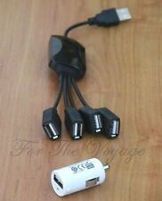 Micro USB 2.1A 2A Car Boat Charger 12V DC to 5V Adapter Cigarette Lighter Socket
