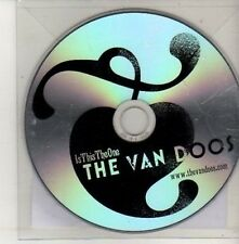 (CU552) The Van Doos, Is This The One - 2011 DJ CD