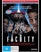 THE FACULTY - JOSH HARTNETT - JORDANA BREWSTER - CLEA DUVALL - DVD - NEW -