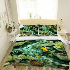 3D Undersea Coral Sea Turtle Kep9302 Bed Pillowcases Quilt Duvet Cover Kay