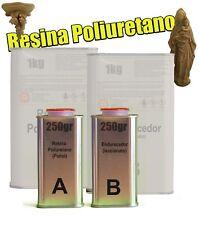 Resina de Poliuretano - Colada 2 Componentes (A+B) - ARTE PRO -KIT 500gr
