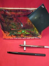 Urban Decay Set~24/7 Glide-On Pencil Bourbon + Perversion Angled Brush + Bag~New
