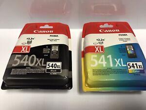 genuine canon ink cartridges 540 541 xl