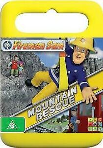 FIREMAN SAM MOUNTAIN RESCUE - NEW & SEALED DVD - FREE LOCAL POST