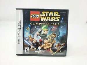 LEGO Star Wars: The Complete Saga (Nintendo DS, 2007) NDS 3DS Complete Authentic