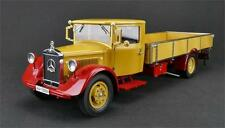 Mercedes-Benz Racing Car Transporter Platform Truck by CMC in 1:18 Scale  CMC169