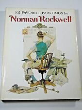 102 Favorite Paintings by Norman Rockwell Book 1978