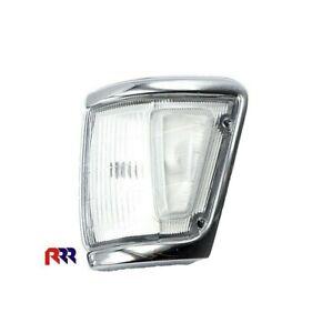 FOR TOYOTA HILUX LN106 4WD 91-97 CORNER LIGHT, FULL WHITE,CHROME RIM - LEFT SIDE