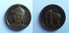 Médaille Exposition Coloniale Paris 1931. Asie. Cuivre.