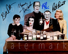 The Munsters signed photo 8X10 poster picture autograph RP