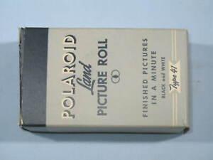Polaroid Land PICTURE ROLL Black & White Type 41 Expired Sept 1953 - #4