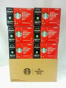 Starbucks Coffee 2019 Holiday Blend KEURIG K-Cups Pods - 60 Count