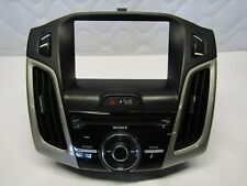 12 13 14 15 FORD FOCUS SONY NAVIGATION DISPLAY RADIO CONTROL BEZEL OEM