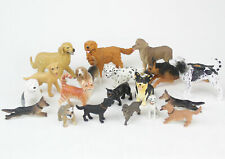 Large Lot Safari Ltd New Ray Dog Figures Cats Dalmatians More