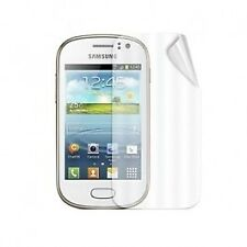 Samsung Galaxy Fame Clear Silicone Case / Screen Protector / In-Car Charger -...