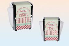 1950`s Diner Serviettenspender Serviettenhalter Retro Vintage American Diner