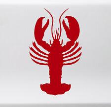 LOBSTER Vinyl Decal Sticker - Claws Crayfish Crab Tail Rock Ocean Sea Creature