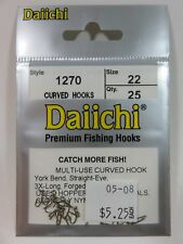 Daiichi 1200-Series Fly Tying Hooks