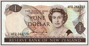 New Zealand 1 Dollar 1981-85 Pick 169