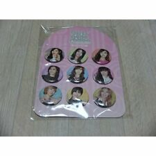 SMART SM ART EXHIBITION Girls' Generation  PIN BUTTON SET SM OFFICIAL GOODS NEW