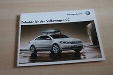 99498) VW Passat CC - Zubehör - Prospekt 01/2012