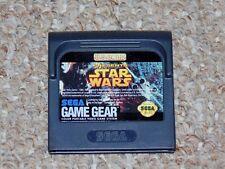 Star Wars Sega Game Gear Cartridge