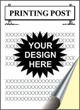 500 2-part NCR Forms 8½ x 11 - Your Design! - PRINTING!