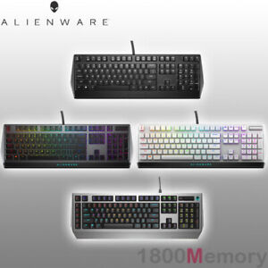 GENUINE Alienware Gaming Keyboard Mechanical Low Profile RGB Wired Backlit Dell